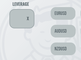 Animation showing how to attach leverage to forex pairs