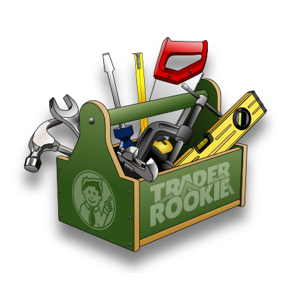TraderRookie Toolbox with different day trading tools